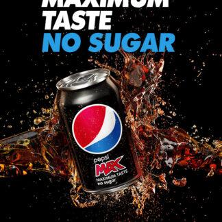 Pepsi Max No Sugar Can drinks delivery limassol