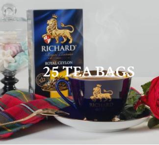 richard royal tea bags Hawana cyprus